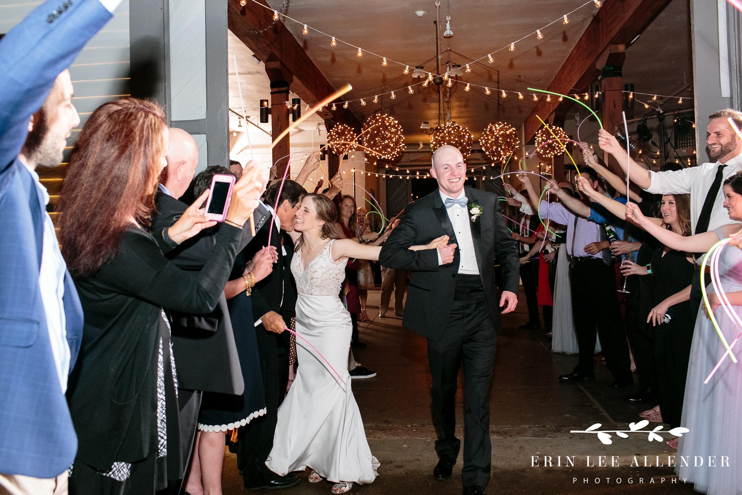 glow-stick-wedding-exit