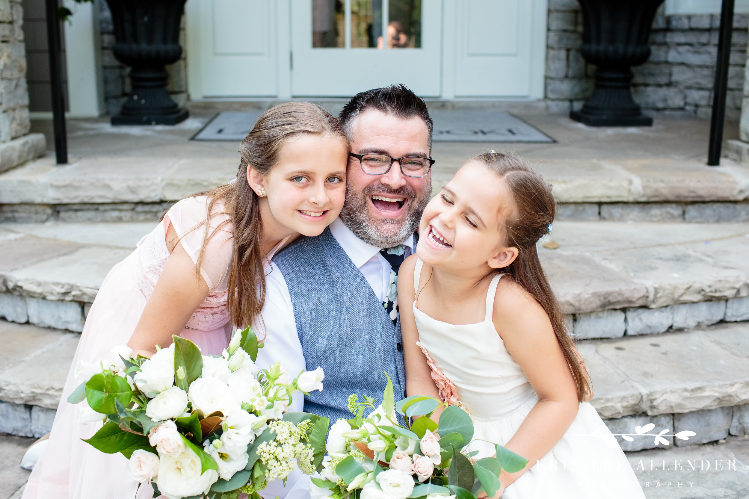 Groom-With-Daughters