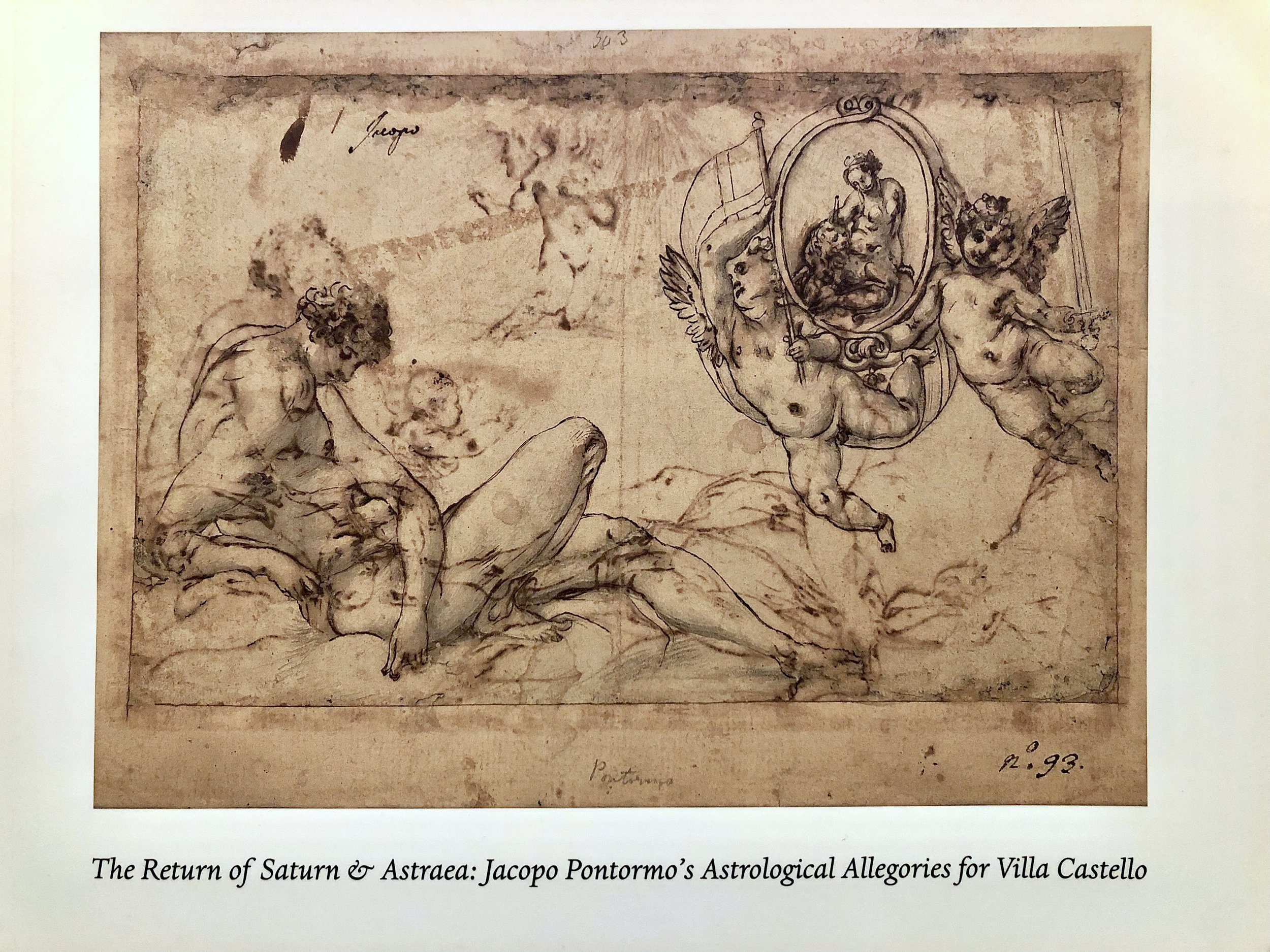 Christopher Bishop Fine Art,  The Return of Saturn & Astraea: Jacopo Pontormo's Astrological Allegories for Villa Castello . Scholarly catalogue to accompany the exhibition  Jacopo Pontormo's Astrological Allegories for Villa Castello , January 2018. Illustration design and image rights research by Allison Wucher, Silverpoint Fine Art.