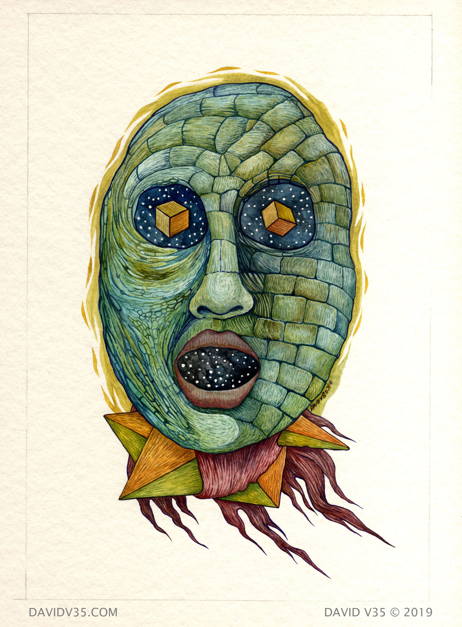 Genesis / Watercolor / 2016