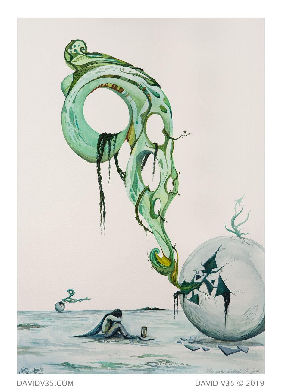 Escapismo / Watercolor / 2006