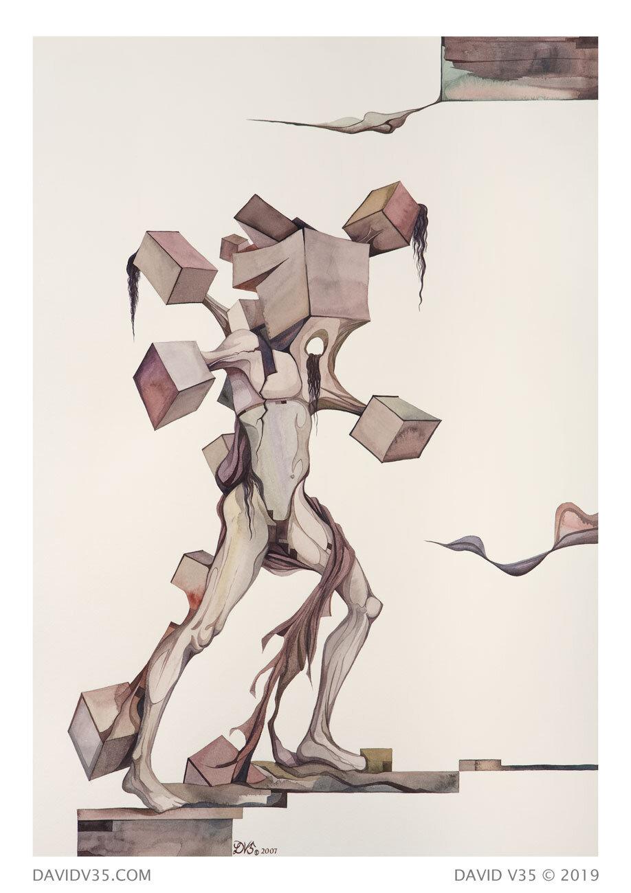 Martyr / Watercolor / 2007