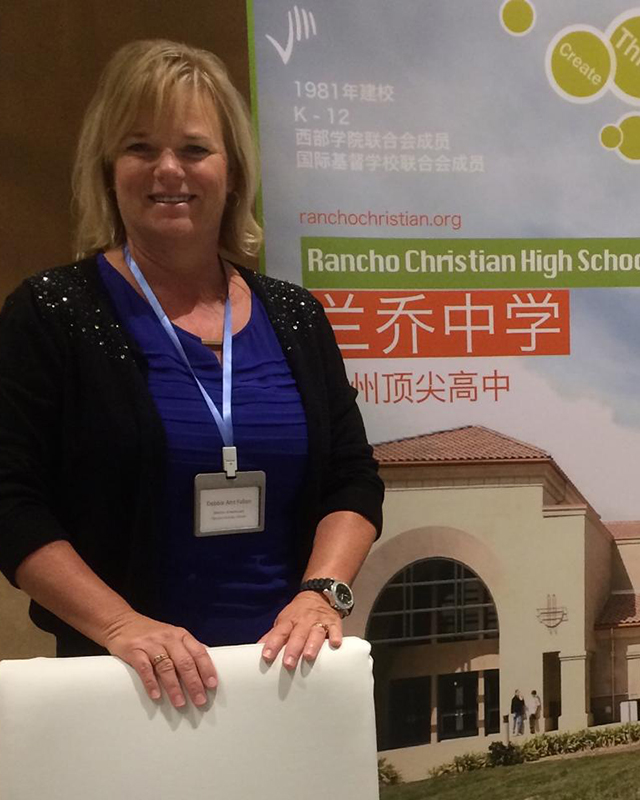Debbie Fallon  Director of Admissions