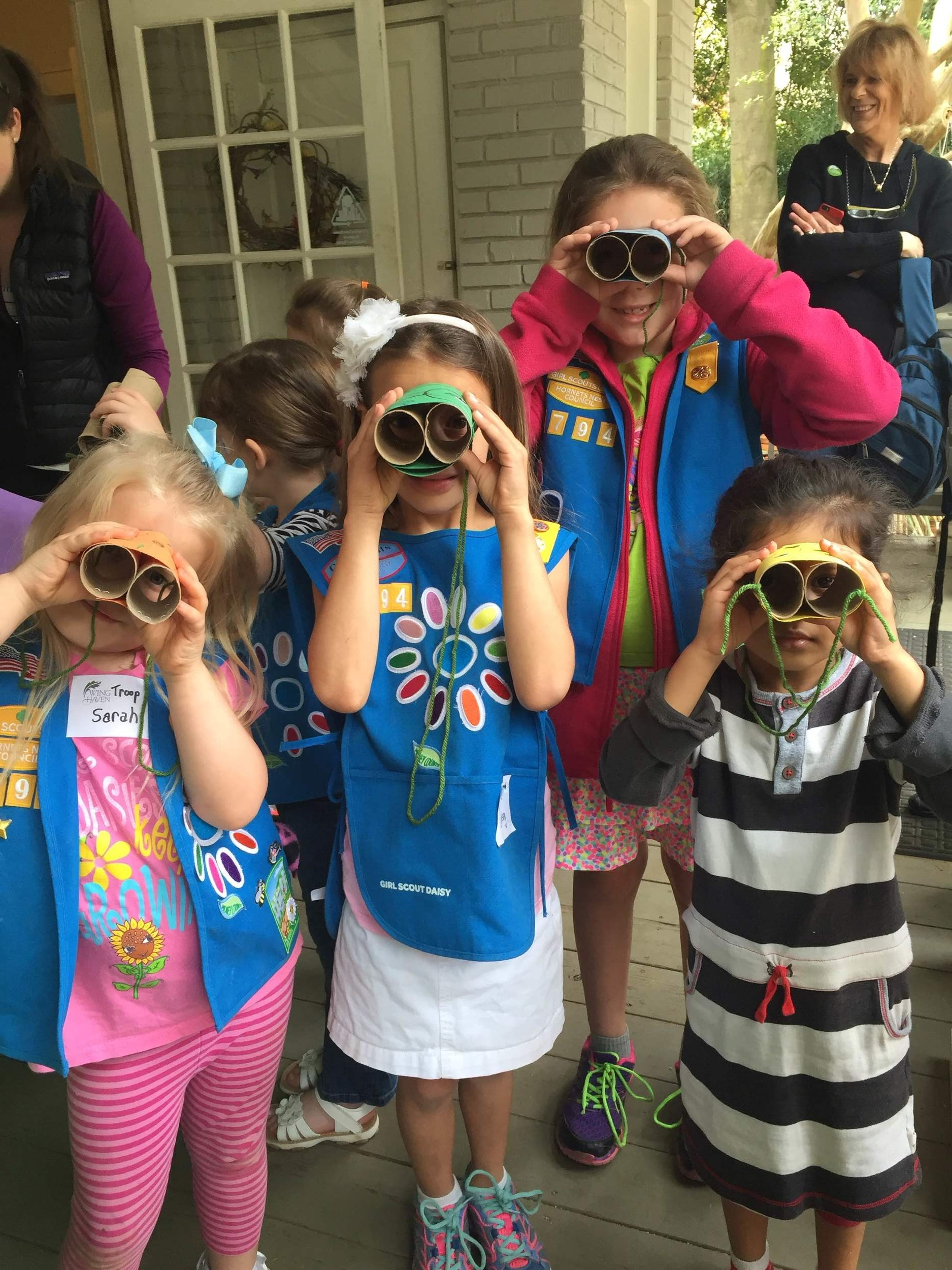 Girl Scout Badge Day Spring 2016
