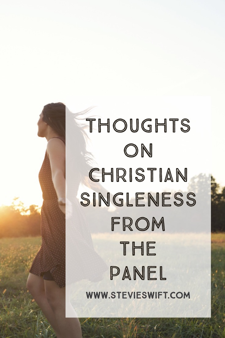 I was invited to answer common questions about singleness at my church - here are my answers