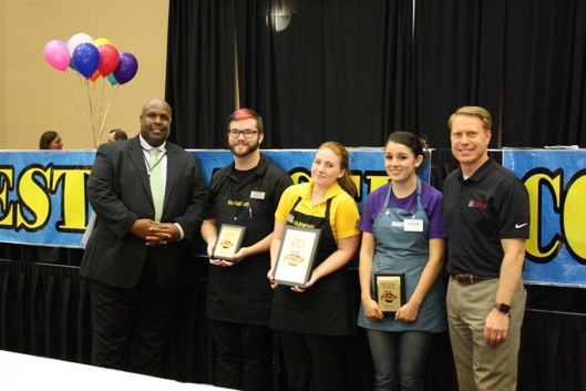 Pictured from Left to Right  Edgar Wright - UFIA Chair, Brody Barney, Molly Dittman, Kaylee Hudson, Dave Davis - UFIA CEO