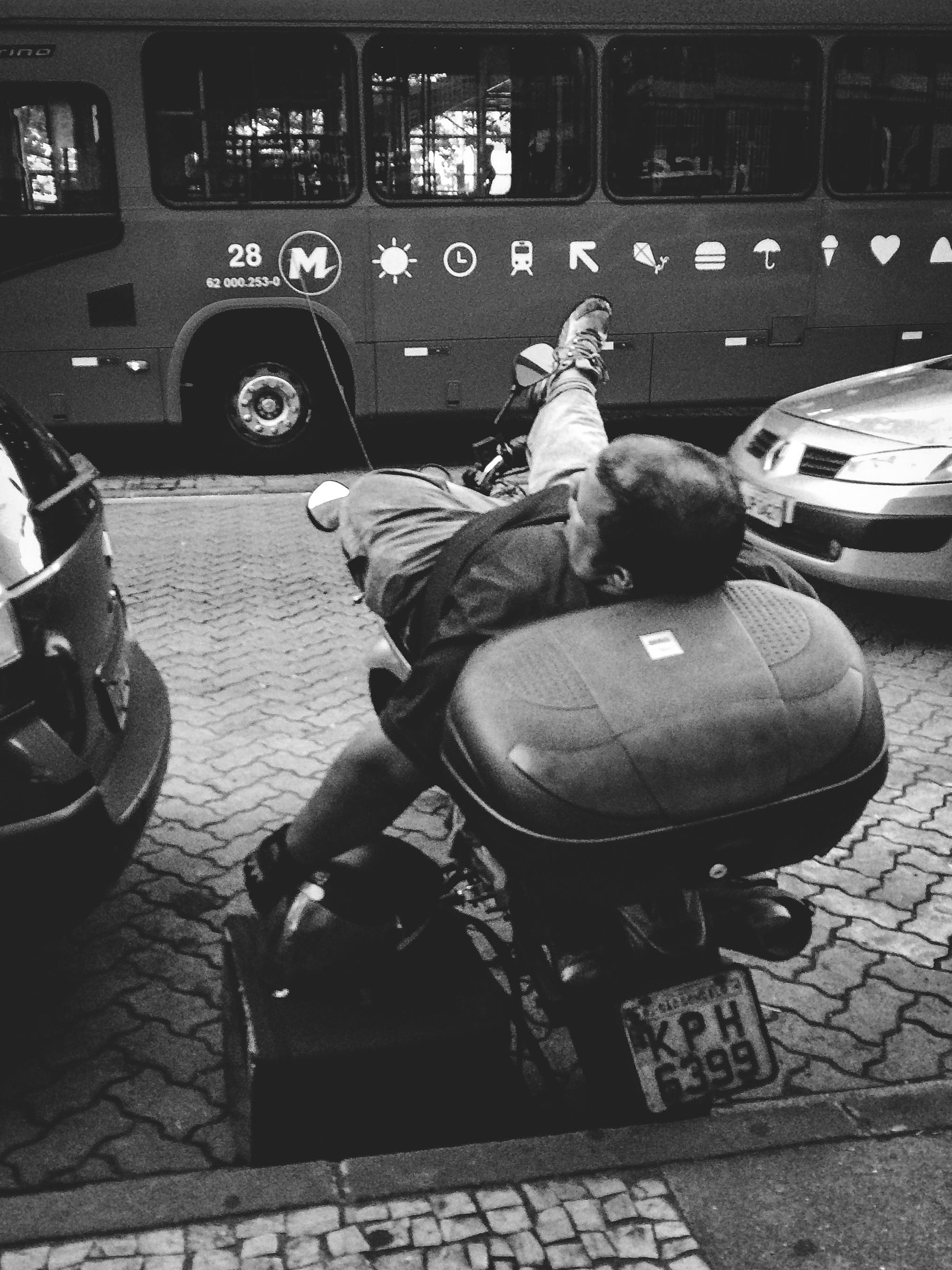 / Traffic Stress...Less