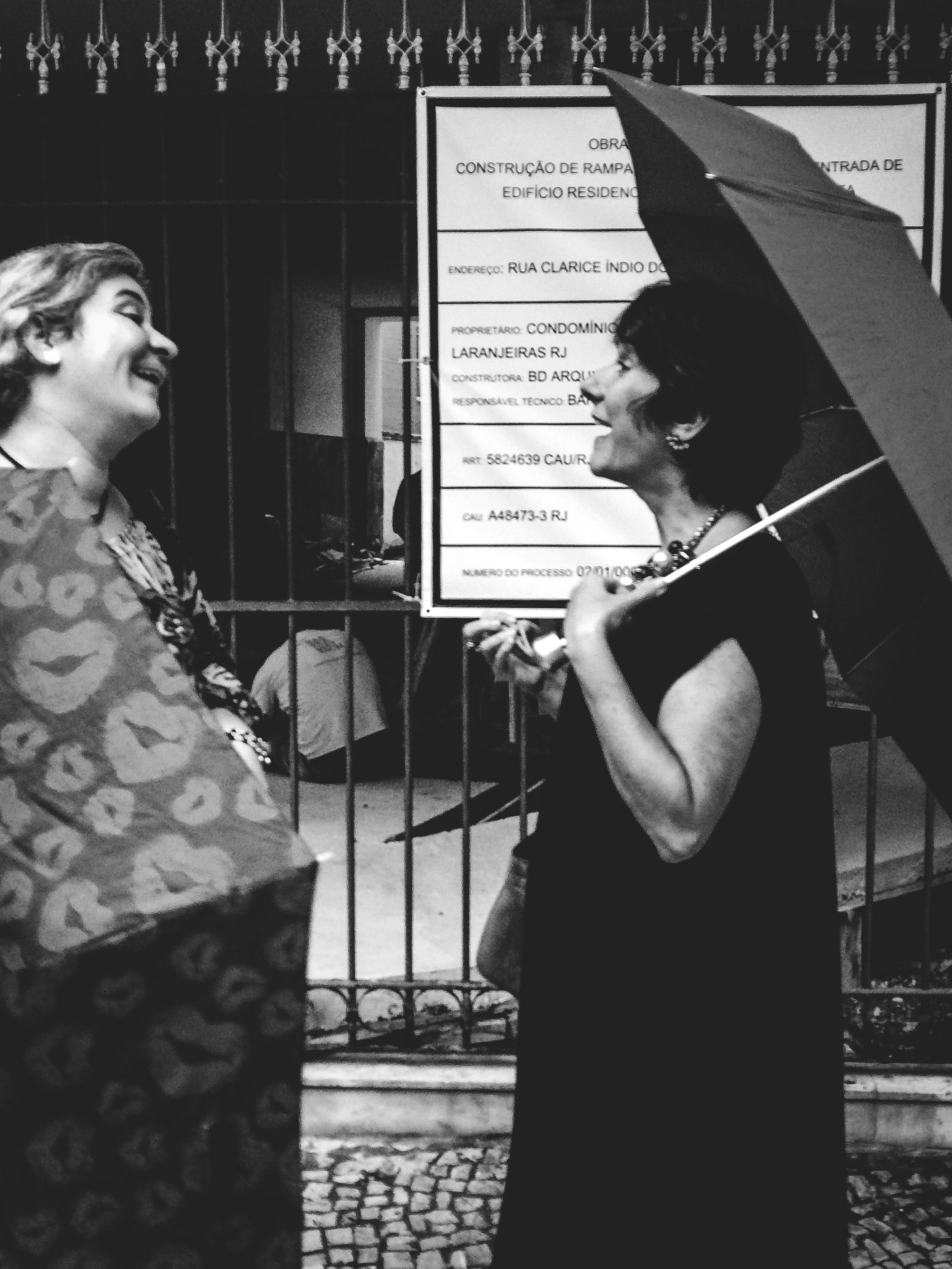 / Umbrella talk