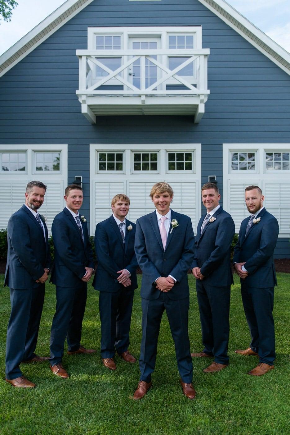 Cool Groomsmen Group Photo