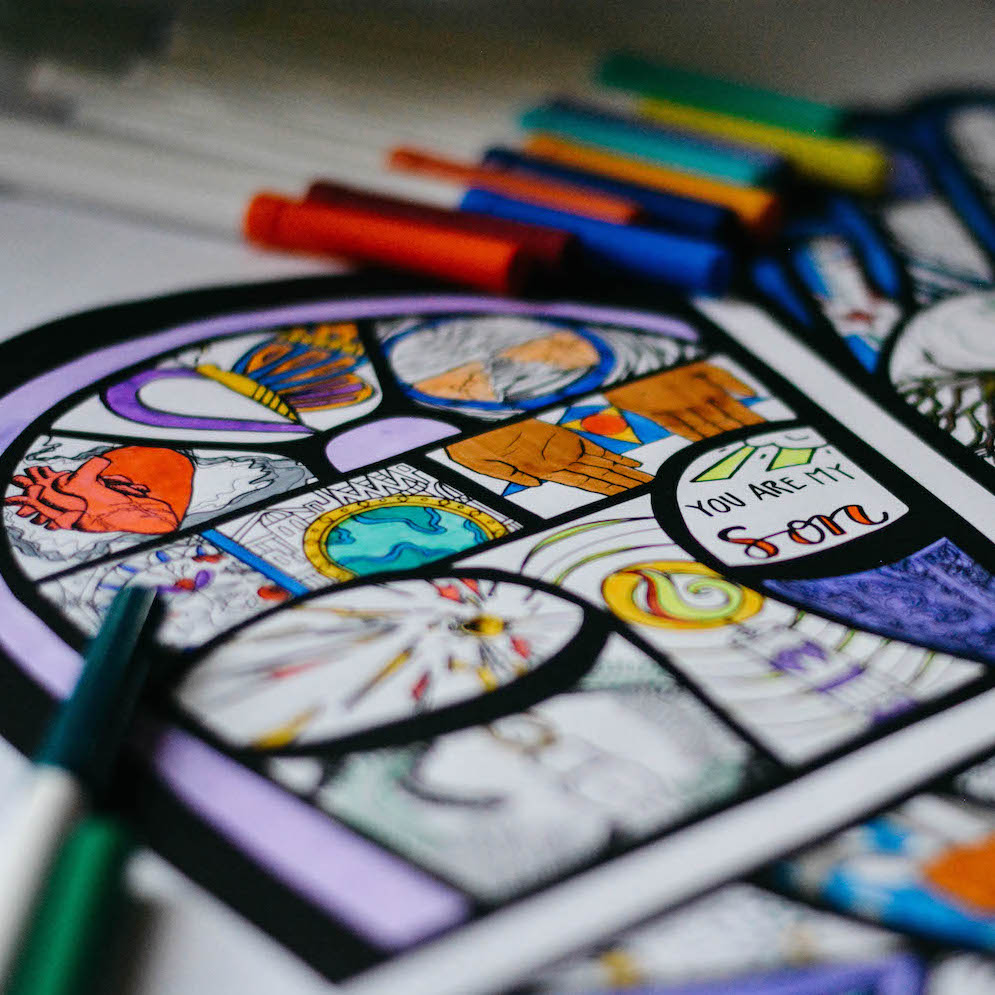 EMBODIED Coloring Calendar + Devotional Guide (Year B) $18-$85