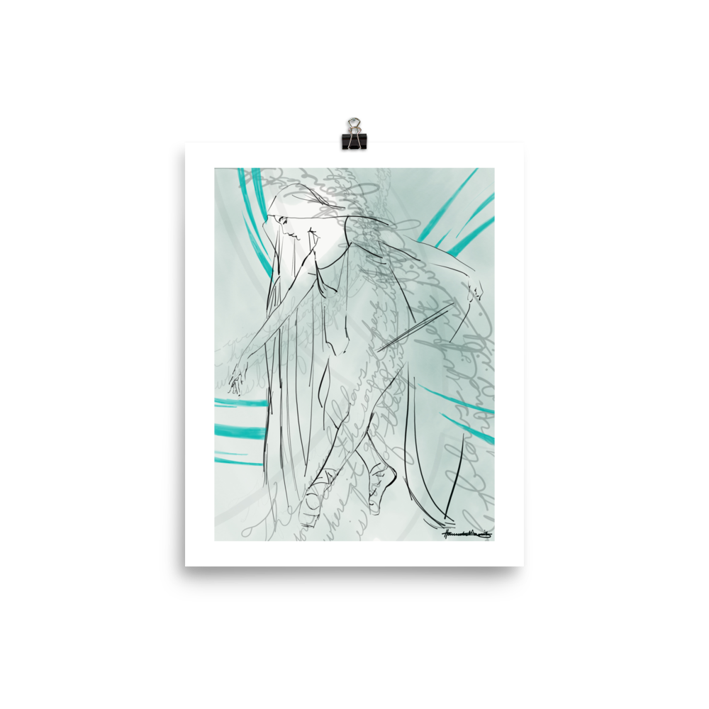 The Wind Blows Print Holy Spirit A Sanctified Art