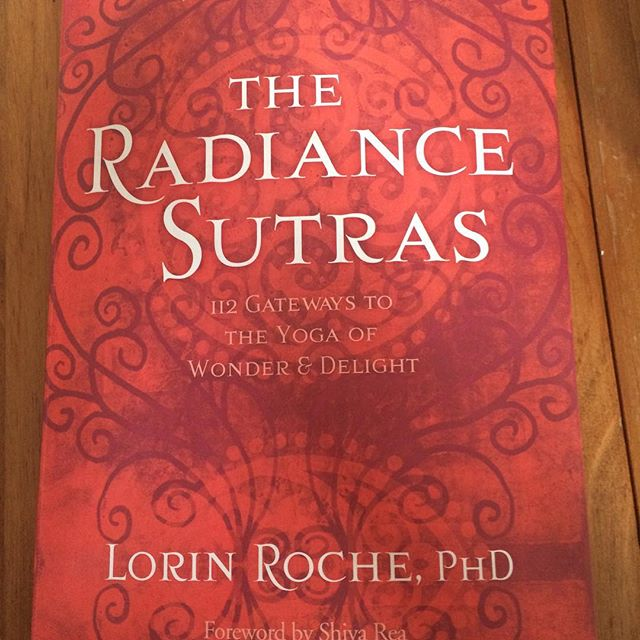 This book is blowing my mind and melting my heart. Do yourself a favor and get a copy and crack your heart open. #yoga #radiance #heart #sublime