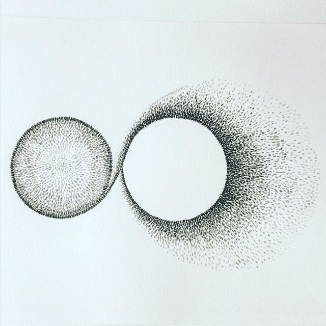 Wife and Husband. Ink on paper. #love #simplicity