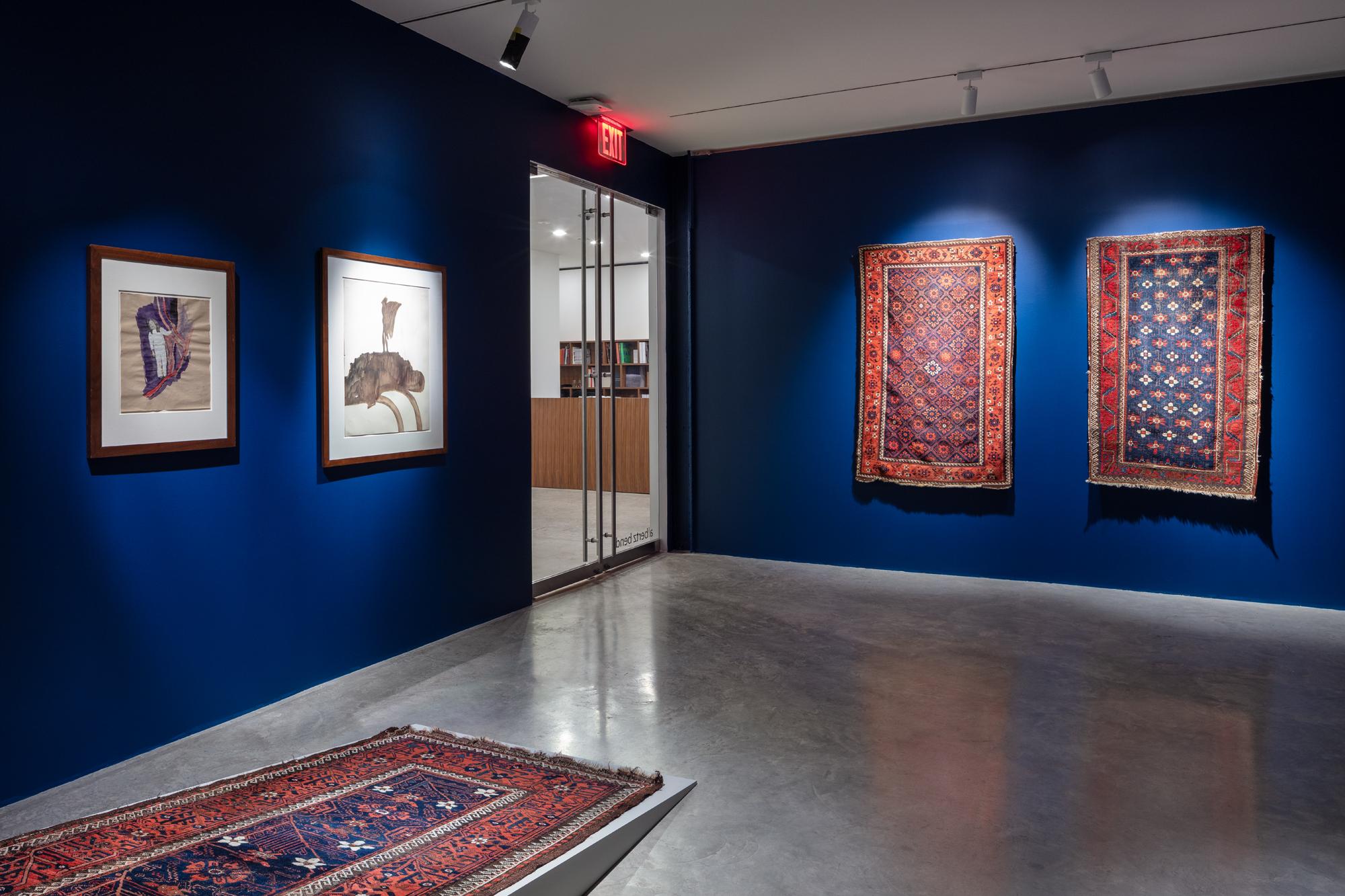 Art / Installations  UNDER THE NIGHT SKY Albertz Benda & Friedman Benda