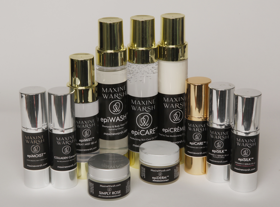 Natural skin care - from Maxine Warsh!