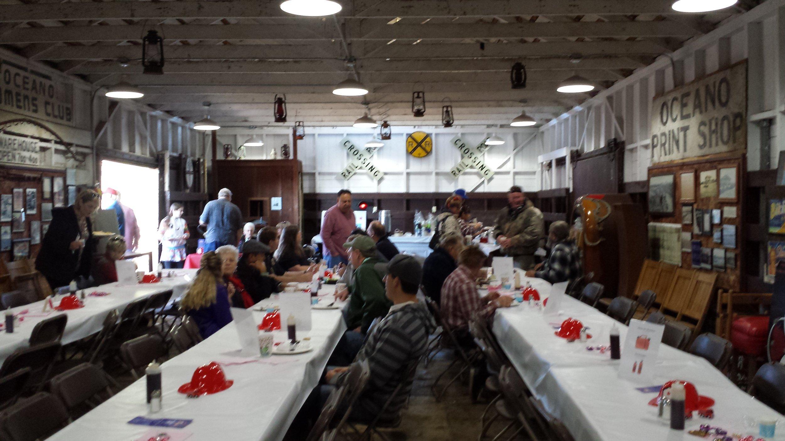 Oceano Kiwanis Club sponsored a Pancake Breakfast benefiting Friends of Five Cities Fire Authority.