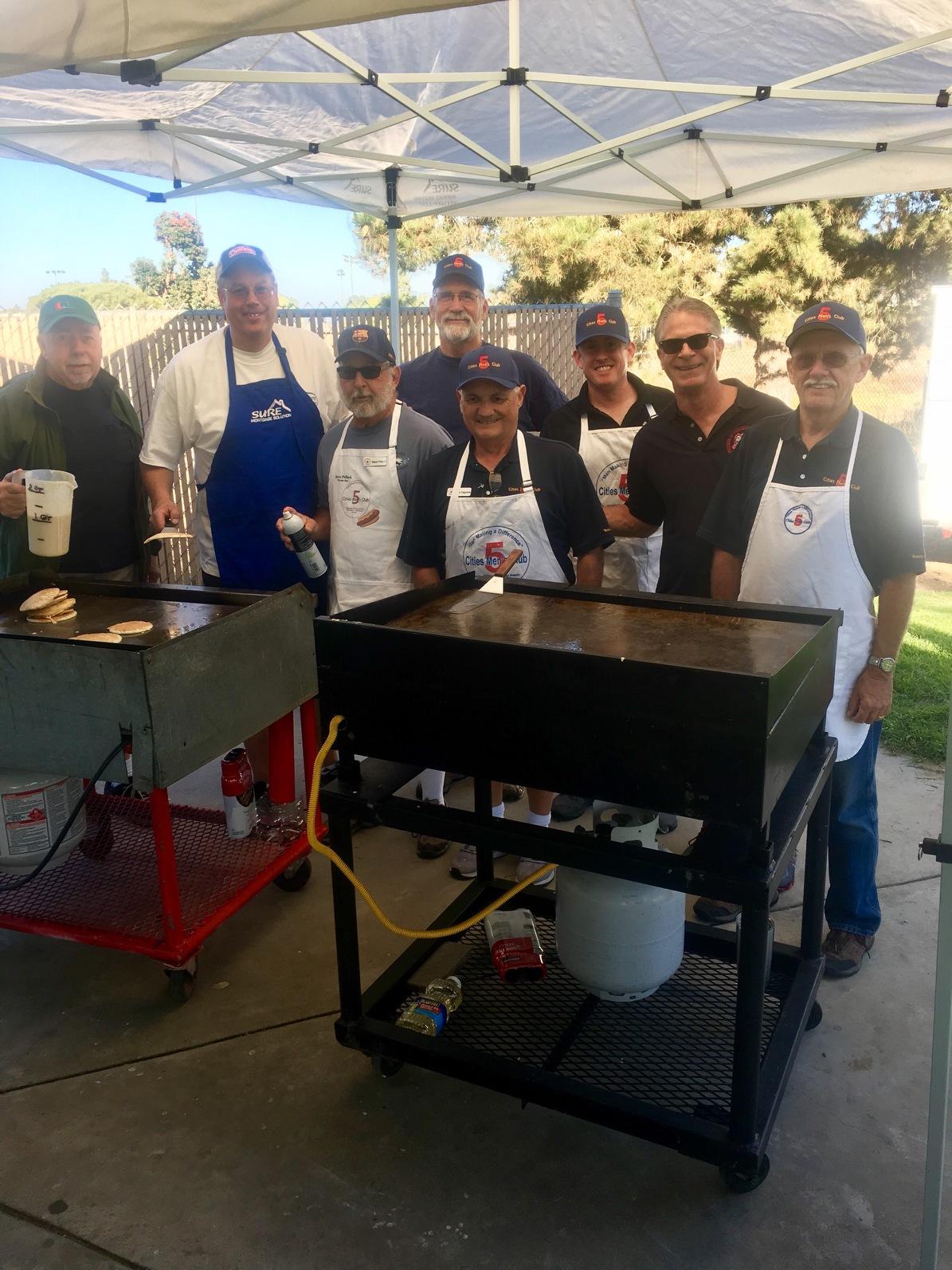 5-Cities Men's Club Pancake Fundraiser