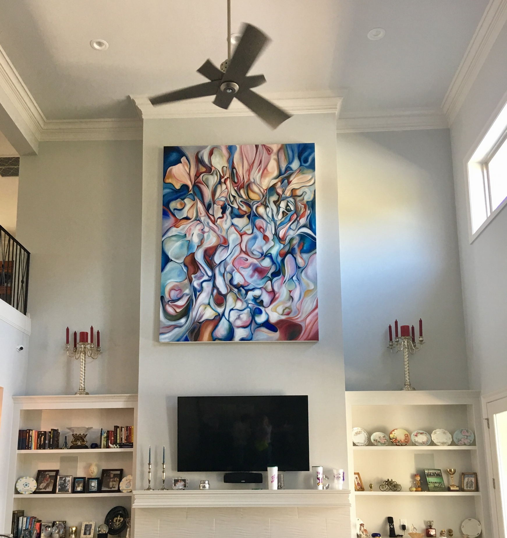 """""""People's Victory"""" installed in collector's home"""