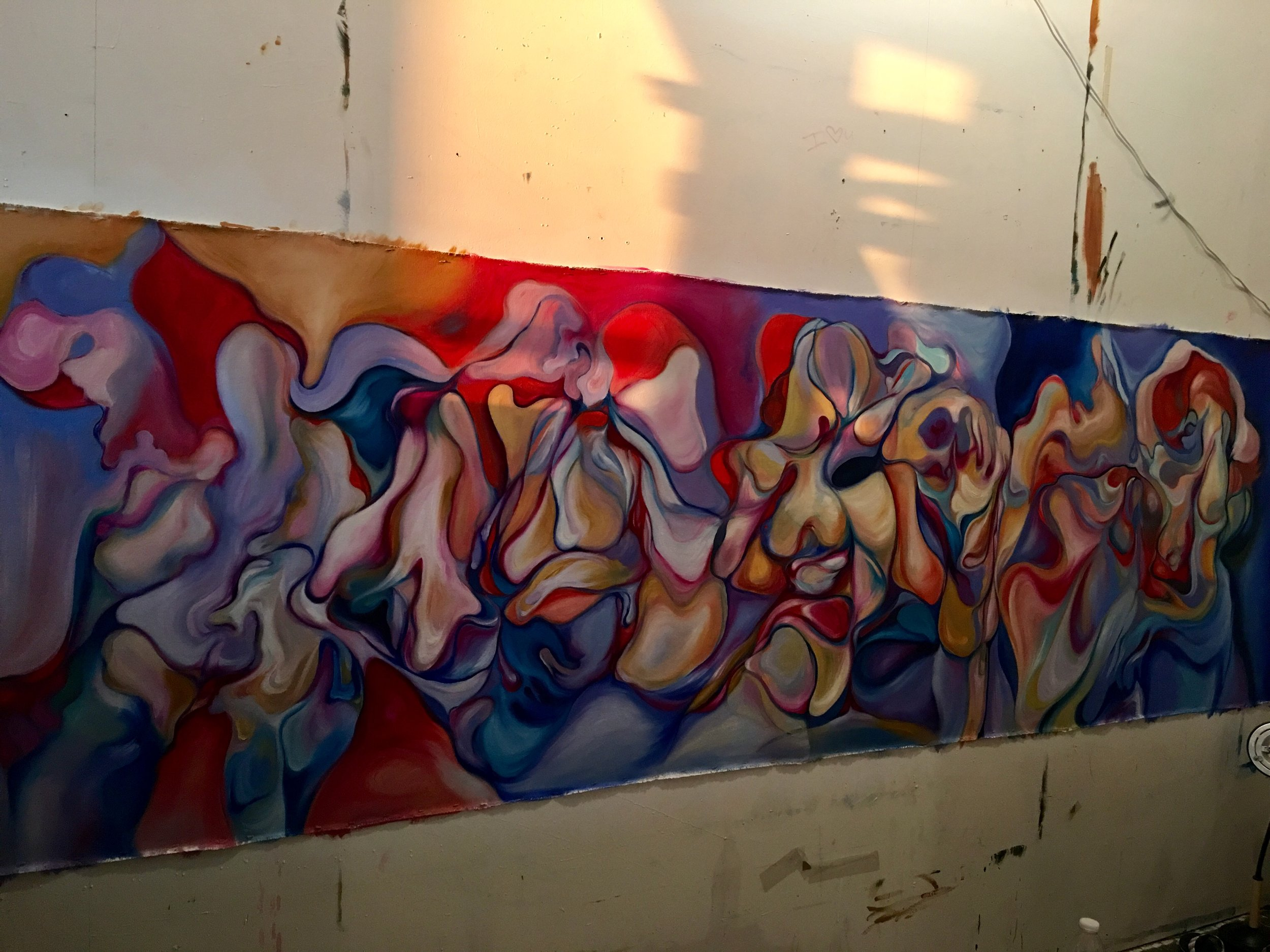 "Painting ""Orthodontist's Waiting Room"""