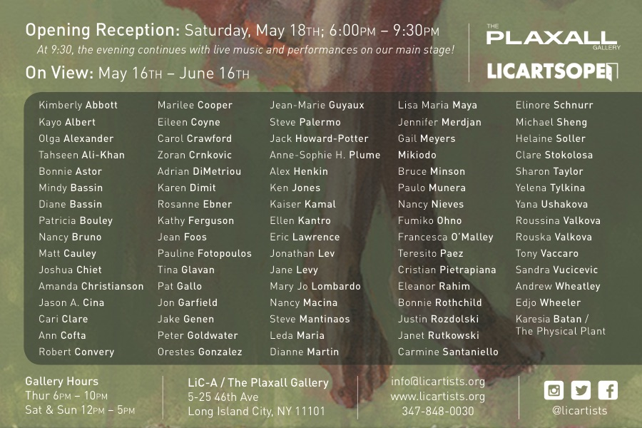 Transitions at Plaxall Gallery LIC