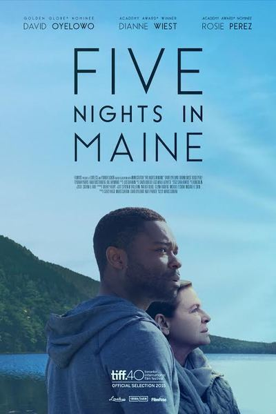 Five Nights in Maine, starring David Oyelowo and Dianne Wiest, Photo Courtesy of FilmRise