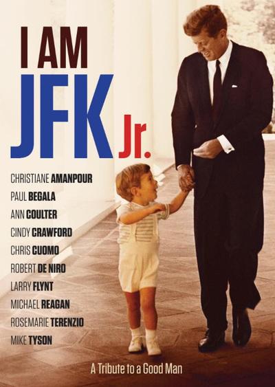 I Am JFK Jr poster, photo courtesy Virgil Films