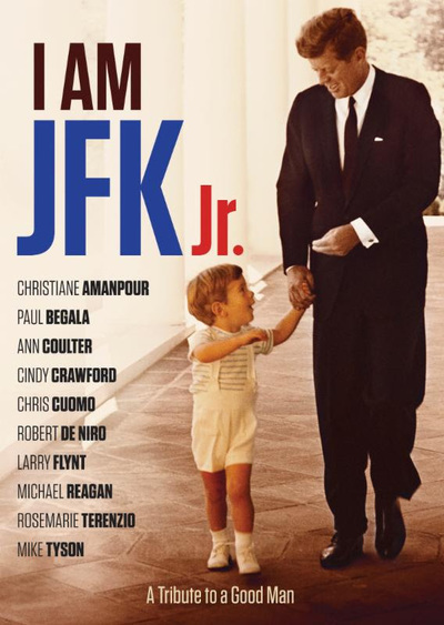 I Am JFK Jr poster, photo courtesy Virgil Films