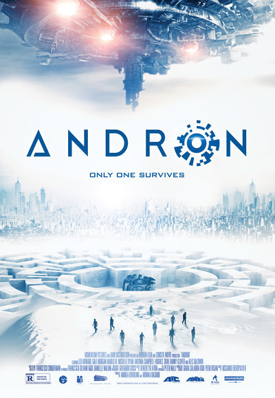 Andron Official Film Poster, Courtesy of Momentum Pictures