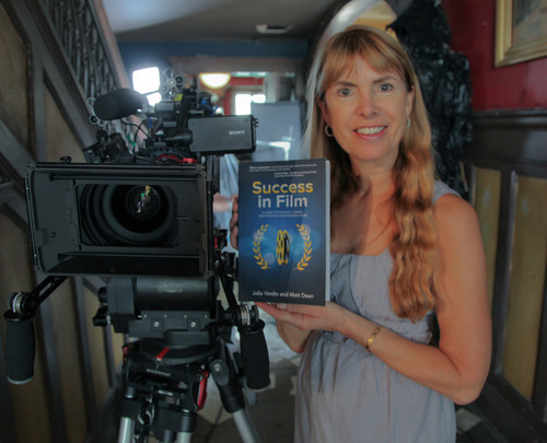 "Julia Verdin, Indie Producer and author of ""Success In Films,"" Photo Courtesy of Rough Diamond Productions"