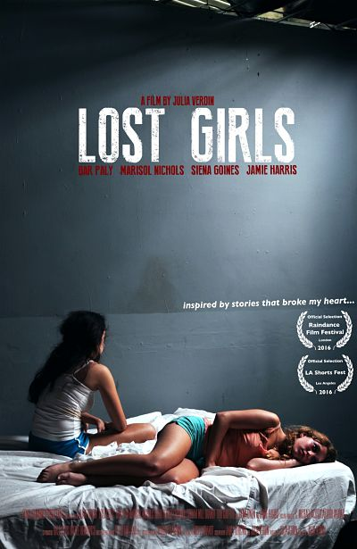 Lost Girls Official Film Poster, courtesy of Rough Diamond Productions