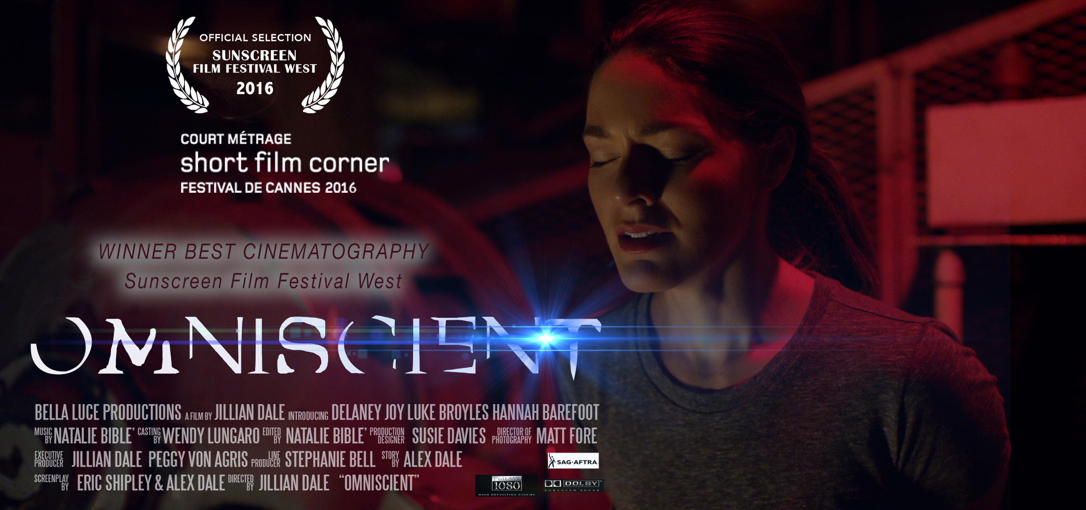 Omniscient Film Produced by Bella Luce Productions, Directed by Jillian Dale