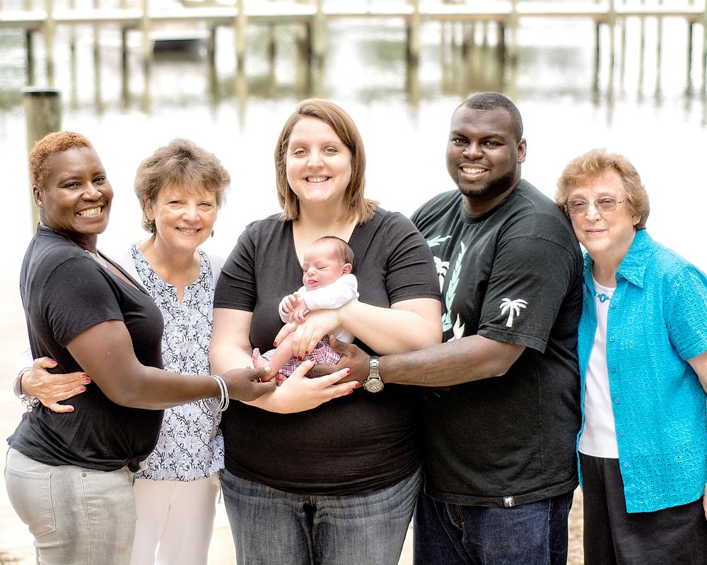 Newborn Portraits in Glen Burnie Maryland