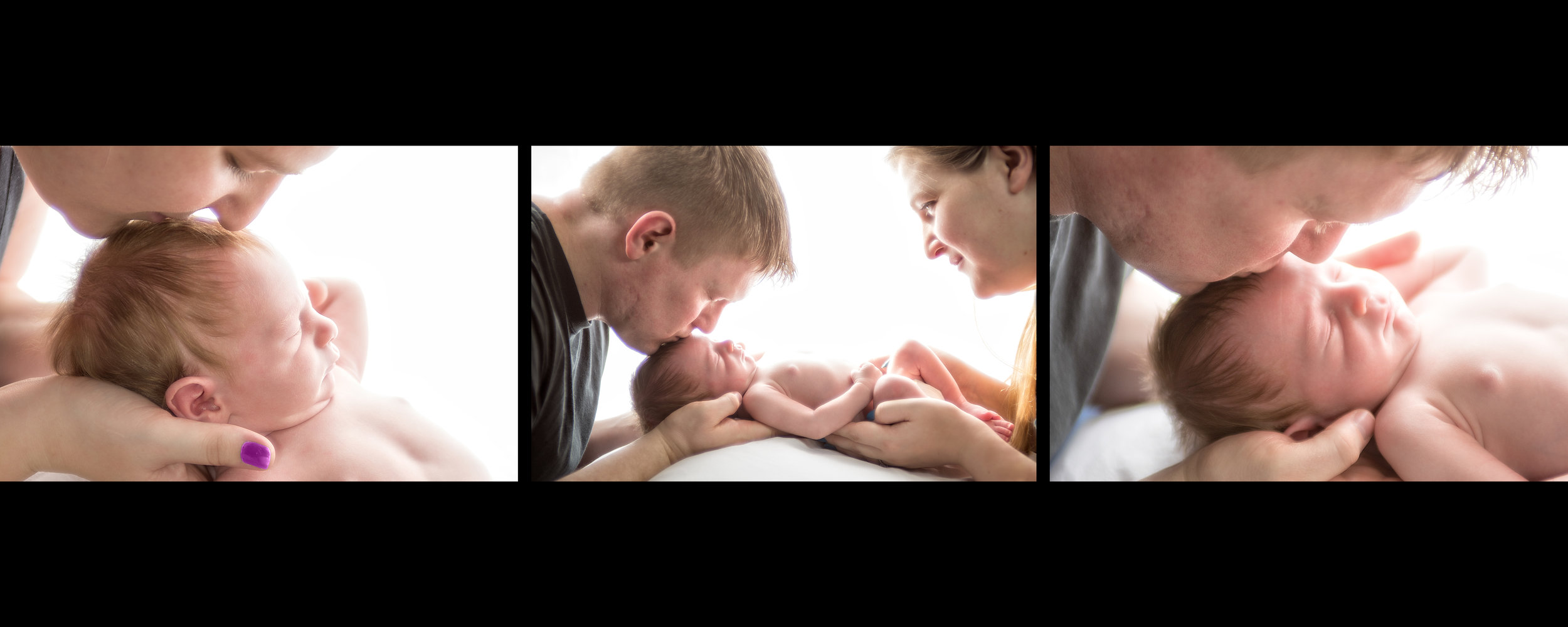 Newborn Portrait Heirloom Album