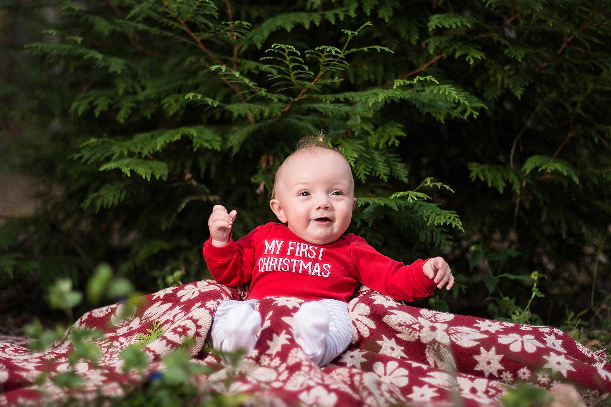 Baby Portraits in shady Side Maryland