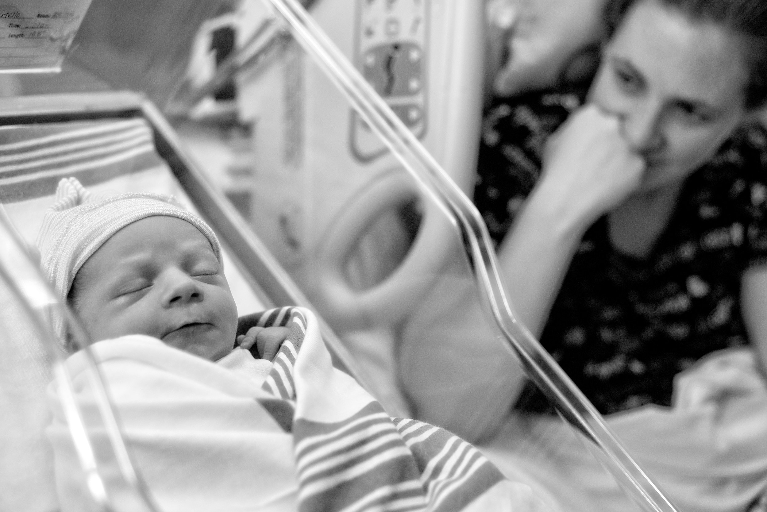 Baby's First 24 Hours Portrait Session