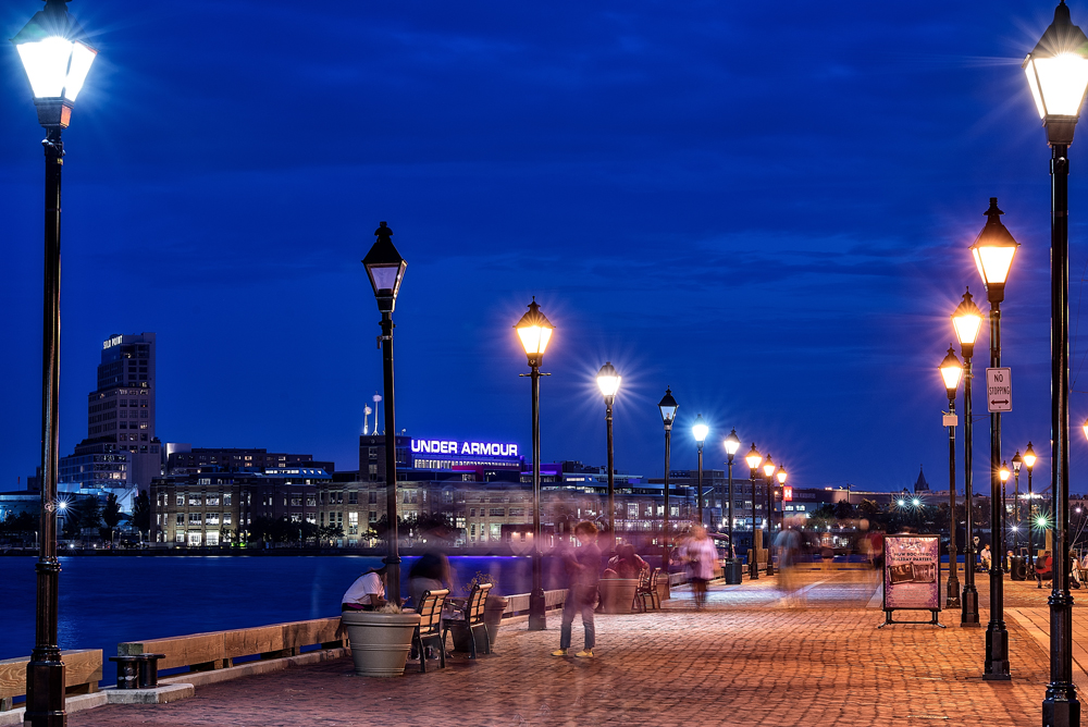 Fells Point Cityscapes by Jamie-Leigh Bissett
