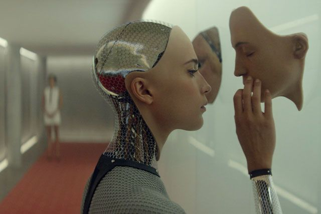 Still from  Ex Machina  (dir: Alex Garland)
