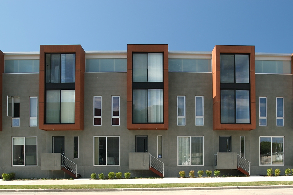ROW HOUSES  Vetter Denk Architects