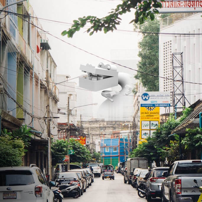…through the city - (Urban Exploration Game - Mobile AR)