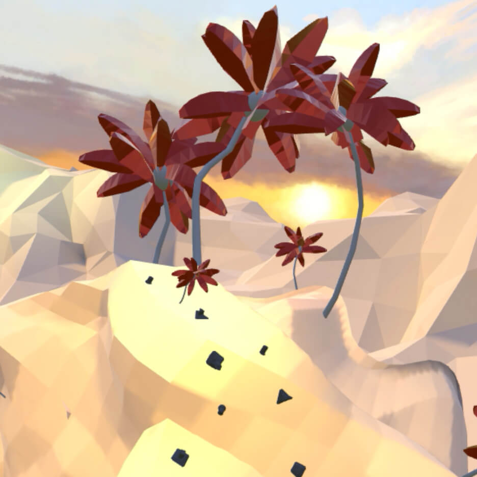 …over mountaintops - (Vertical Zen Garden - VR)