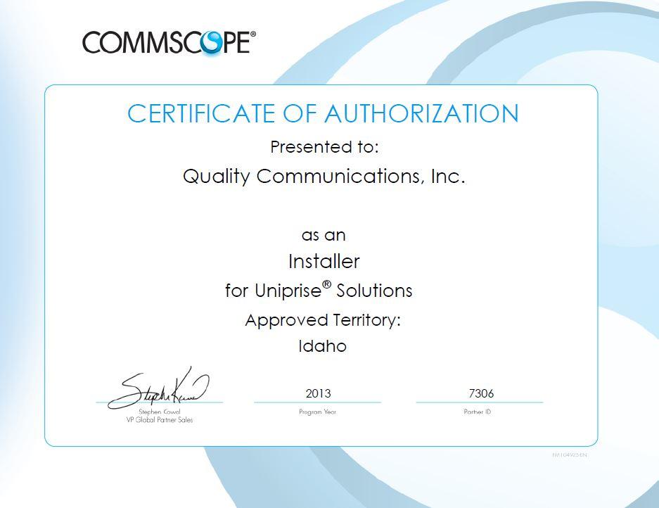 Commscope certification.jpg