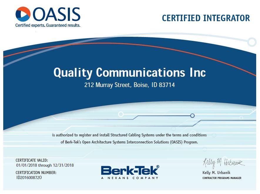 Oasis certification.jpg