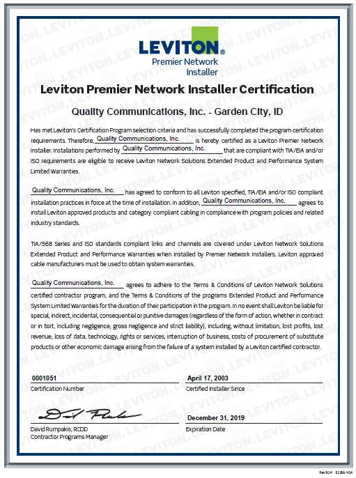 Leviton certification.jpg