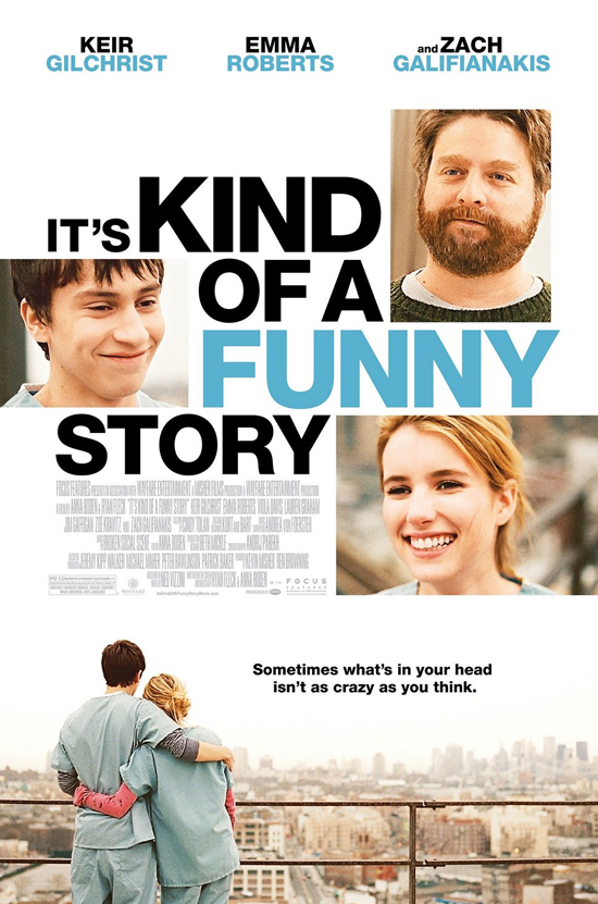 It's Kind Of A Funny Story-Movie Poster