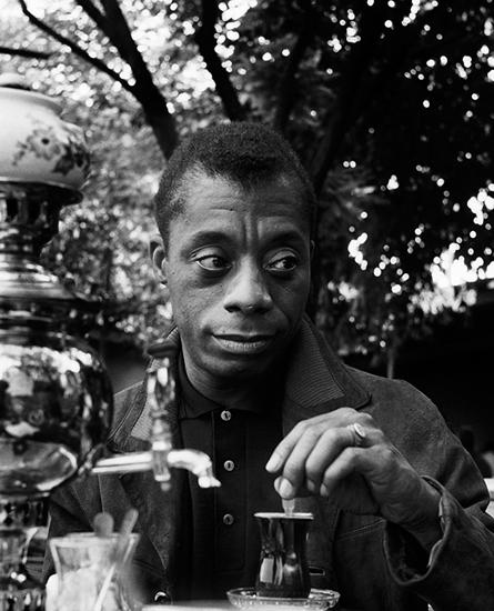 James Baldwin 1965, Photo by Sedat Pakay