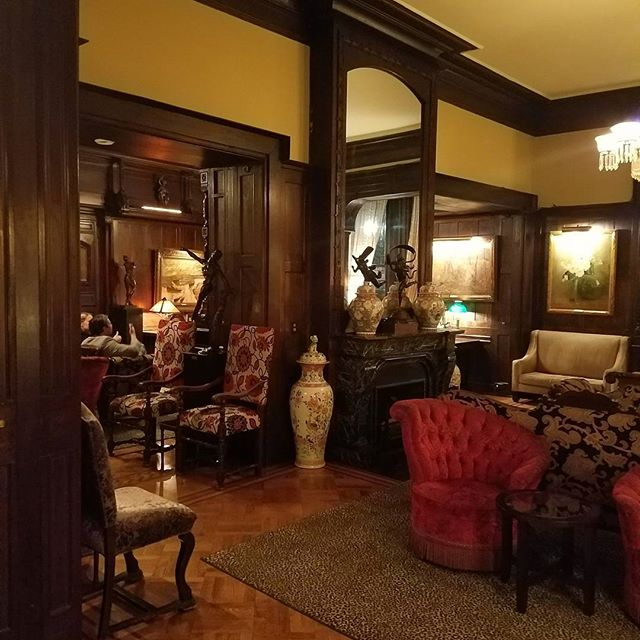 Chambers of elegance.  Such gracious rooms at the National Arts Club in Gramercy, a historic private club for artists. Truly a beautiful space in a historic brownstone townhouse building overlooking the famous Gramercy Park.