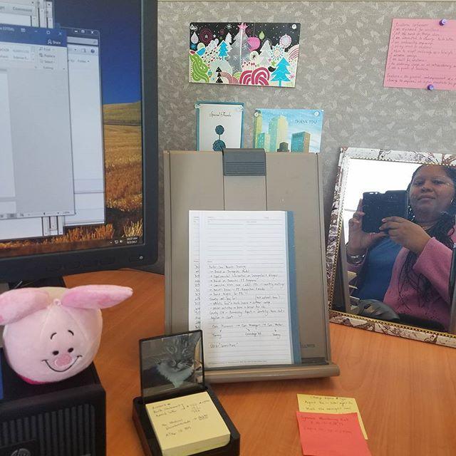 Working: A Self Portrait #happyfriday