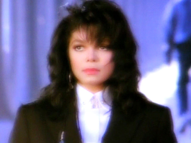 """Still from Janet Jackson's """"Come Back to Me"""" music video."""