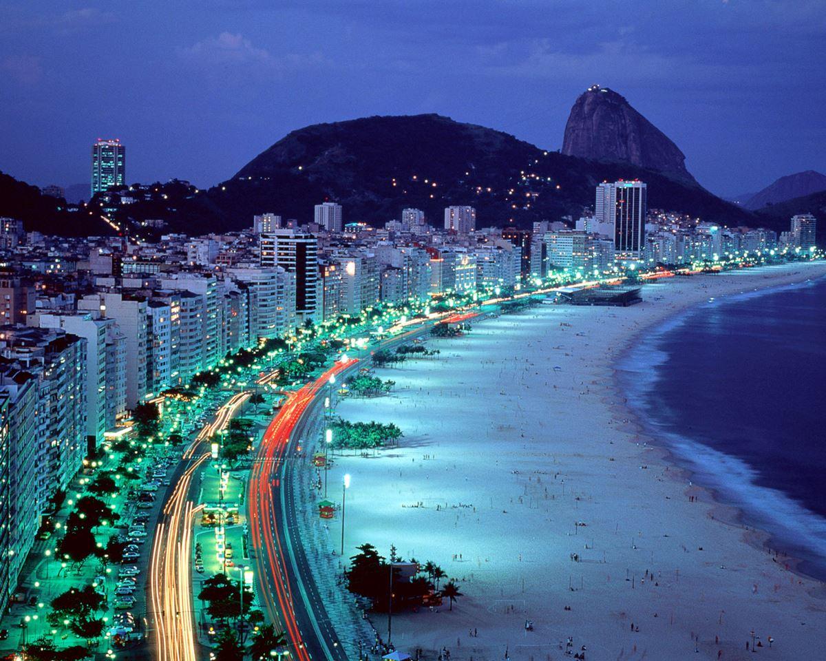 Copacabana Beach…