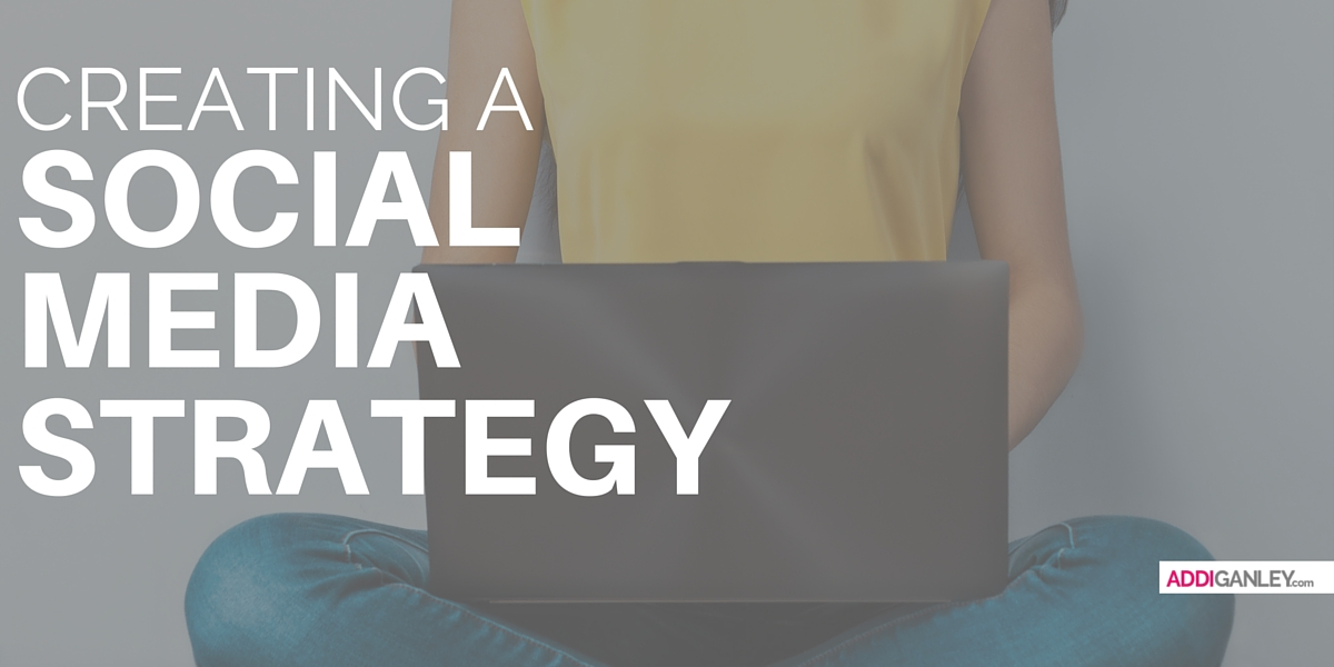 Do you want to build your online presence for your blog or business? Find out how you can create a successful social media strategy & print out this free worksheet!
